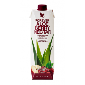 Forever Aloe Berry Nectar 1 litr , aloes do picia bez konserwantów w kartonie