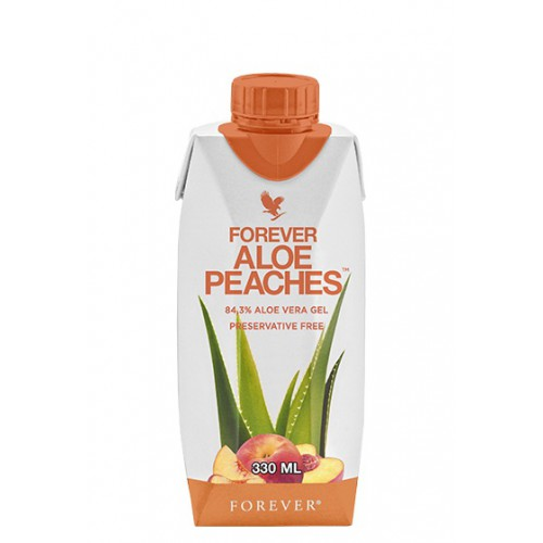 Forever Aloe Peaches 330ml