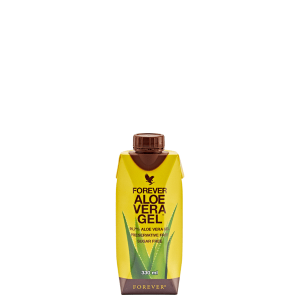Forever Aloe Vera Gel mini 330 ml, aloes forever do picia w kartonie