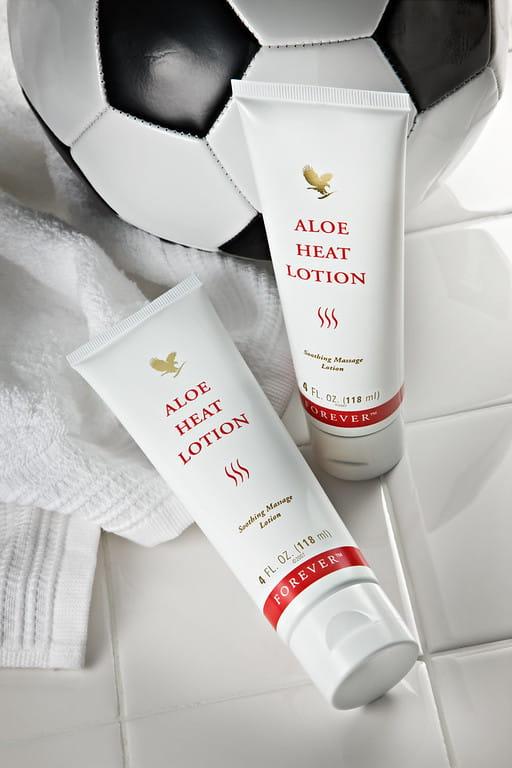 aloe heat lotion forever skład